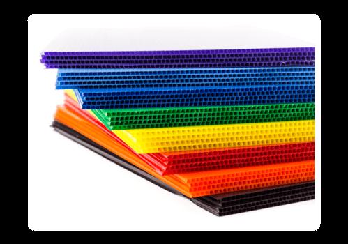Fluted Polypropylene Sheets