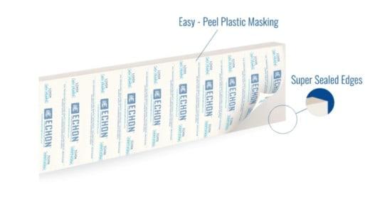 Easy Peel Plastic Masking