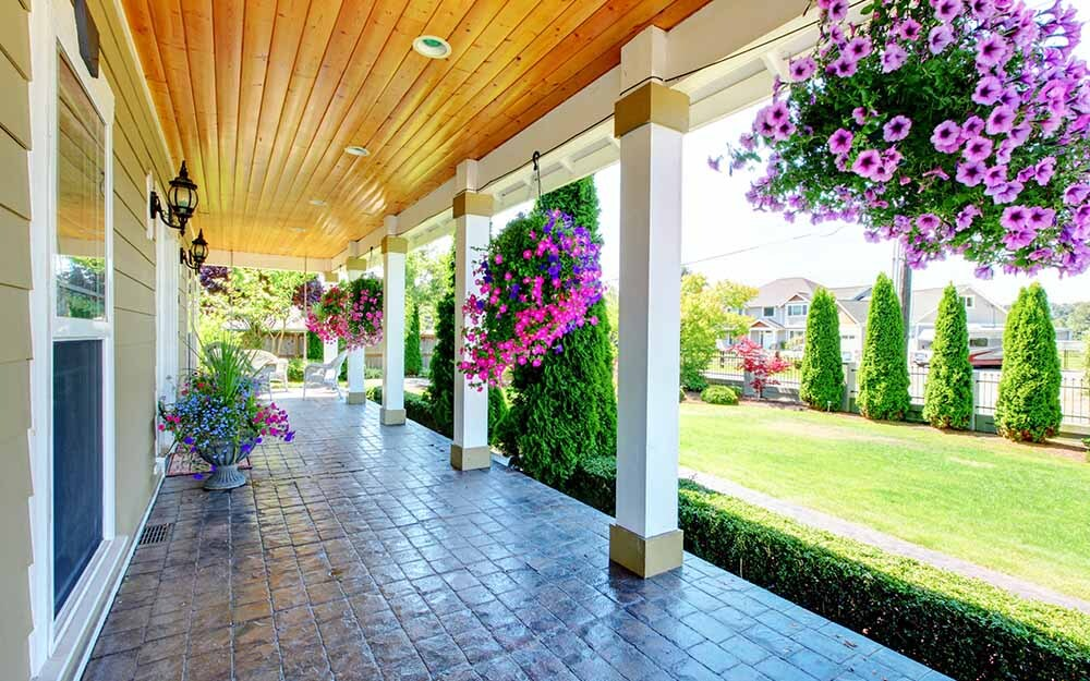 How to Install PVC Porch Ceilings